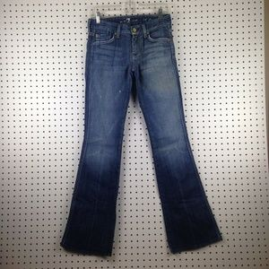 "7 For All Mankind Womens  ""A"" Pocket Jeans Pants"